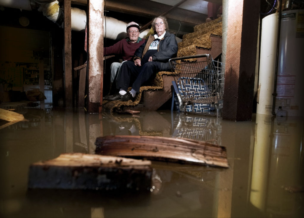 Flooded Gatineau basement